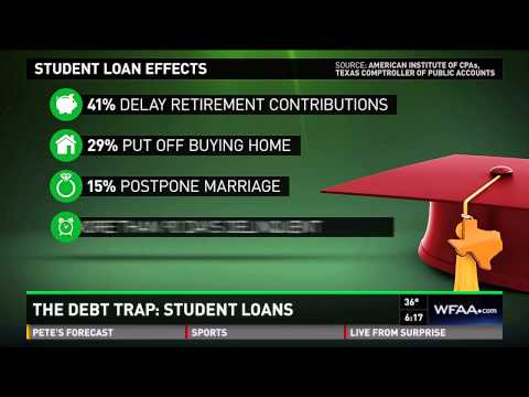 The Debt Trap: The growing burden of student loans