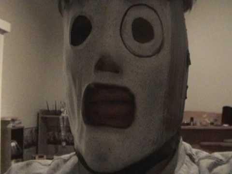 my Slipknot Corey Tyler mask (all hope is gone)