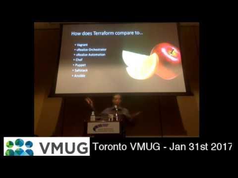 Toronto VMUG 2017-01-31 Eric Wright - An intro to Terraform