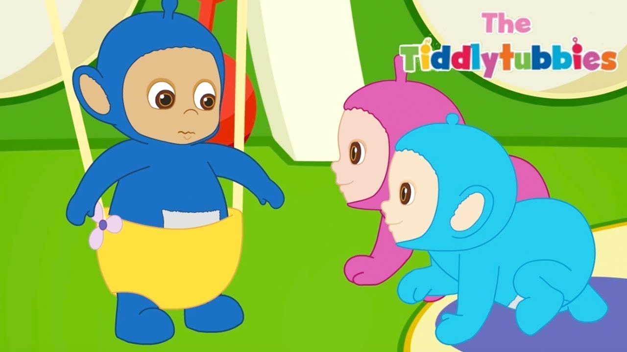 Tiddlytubbies 2D Series | Episode 11 - Getting Stuck | Cartoon for Kids | WildBrain Cartoons