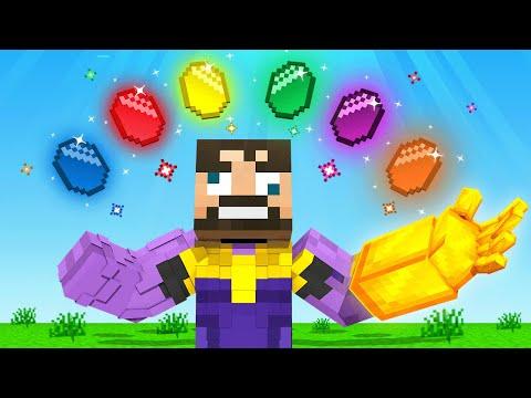THE MOST POWERFUL THANOS in Minecraft (Insane Craft)