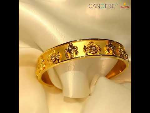 Padmanabha Gold Kada By Candere A Kalyan Jewellers Company
