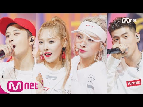 [KARD - Ride On The Wind] Comeback Stage | M COUNTDOWN 180726 EP.580