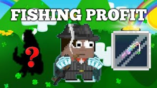 HOW TO GET RICH WITH FISHING | GROWTOPIA