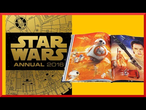 Star Wars 2016 Annual Review (UK Egmont Books Exclusive)