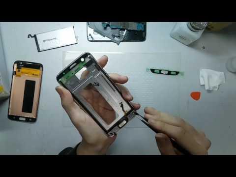 Замена дисплея Samsung Galaxy S7 Edge