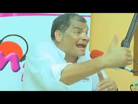 Rafael Correa. Entrevista desde Santo Domingo en Radio Macarena 92.1 FM