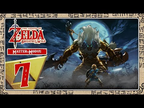 🔴 THE LEGEND OF ZELDA BREATH OF THE WILD [MASTER-MODE] Part 7: Vorbereitungen für Vah Rudania