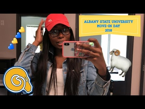 ALBANY STATE UNIVERSITY MOVE IN DAY 2018