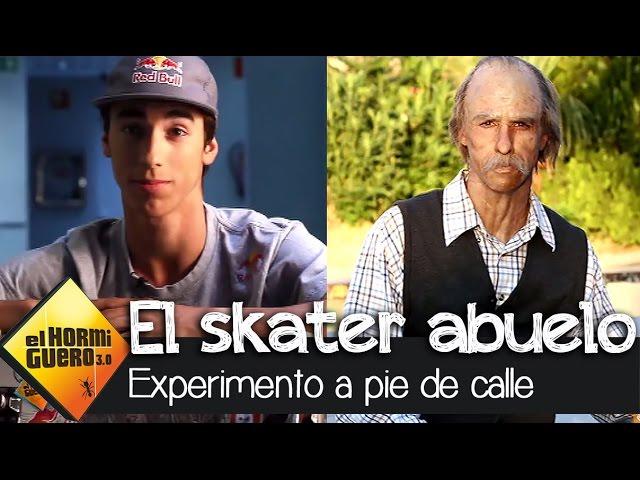 Las apariencias engañan: el skater abuelo – El Hormiguero 3.0