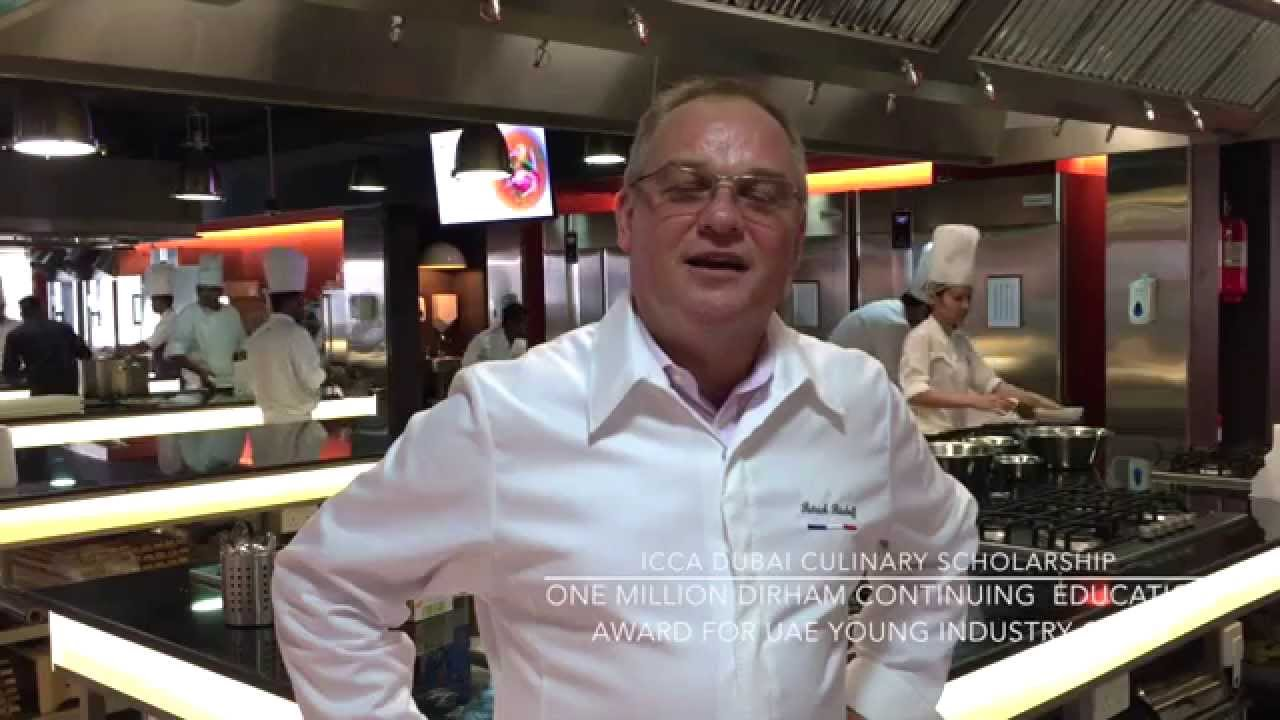 ICCA Dubai Culinary Scholarship with Chef Patrick Bischoff