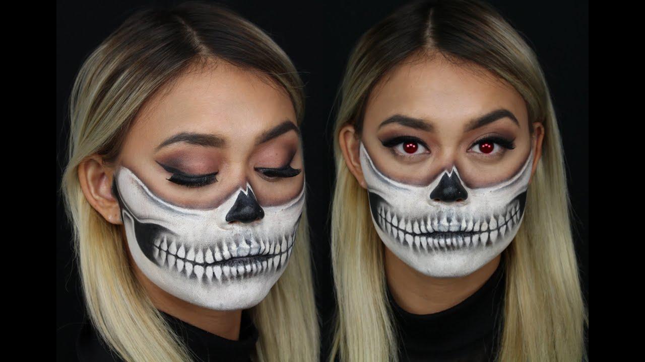 halloween målningar i ansiktet