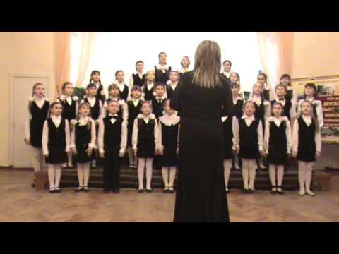 Младший хор ДМШ им. П.И.Чайковского - Если другом стала песня