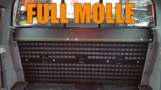 Toyota Tacoma Mod Install — Full Rear Seat Molle Rack System
