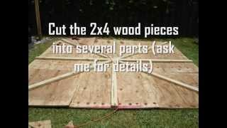 How to Build a Backyard Wrestling Ring | TkO Wrestling