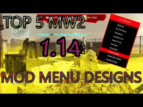 [MW2/1.14]TOP 5 MW2 [USB/BACKUP] MOD MENU...