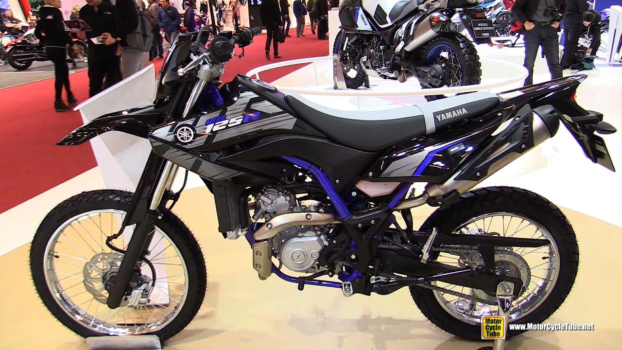 2016 yamaha wr 125 r walkaround 2015 salon de la moto paris youtube. Black Bedroom Furniture Sets. Home Design Ideas