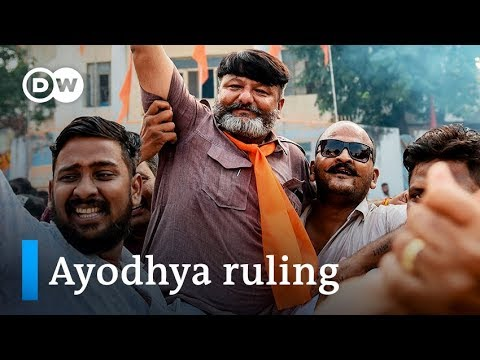 India's Supreme Court says Hindus get Ayodhya site for Ram mandir | DW News