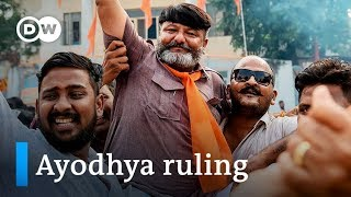 India's Supreme Court says Hindus get Ayodhya site for Ram mandir | DW News