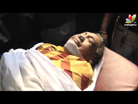 Actress Anjali Devi dies at 85 |  Passes Away in Chennai | Death Funeral