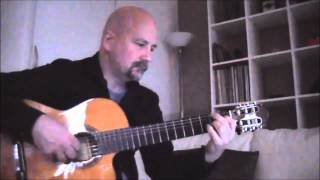 Buster B Jones' Ciao Pier Paolo fingerstyle guitar solo