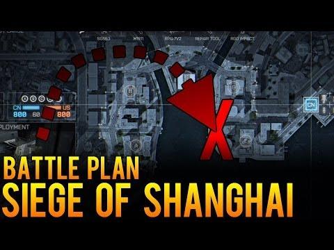 Battle Plan - Siege of Shanghai - Battlefield 4 (BF4) Conquest Map Strategy