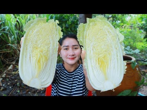 Tasty Chinese Cabbage Soup For Rainy Day – Yummy Chinese Cabbage Soup Cooking – Cooking With Sros