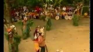 Dayak Modang Hudoq Kal-Tim Borneo Traditional Dance