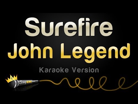 John Legend - Surefire (Karaoke Version)