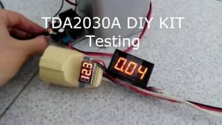 Video Kit Test: TDA2030A DIY KIT download MP3, 3GP, MP4, WEBM, AVI, FLV November 2017
