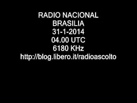 RADIO NACIONAL BRASILIA 6180 KHz