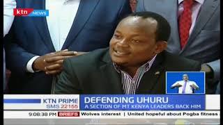 A section of Mt. Kenya leaders back Uhuru Kenyatta