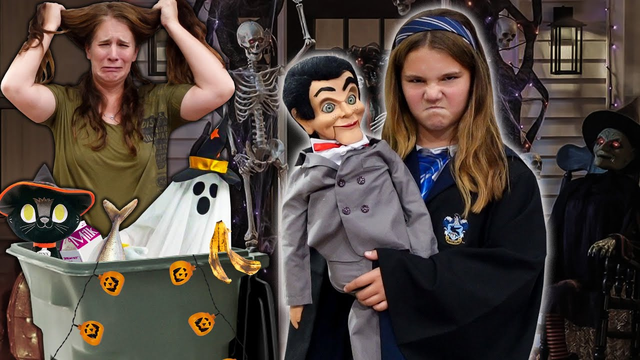 Download Slappy Took Our Halloween Decorations And Blamed CHUCKY!