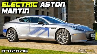 Electric Aston Martin Rapide, New Mercedes-AMG G Wagon, Mercedes AMG GT R Limited - Fast Lane Daily