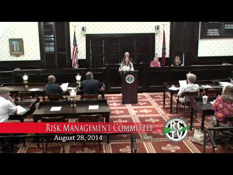 Risk Management Committee - August 28, 2014