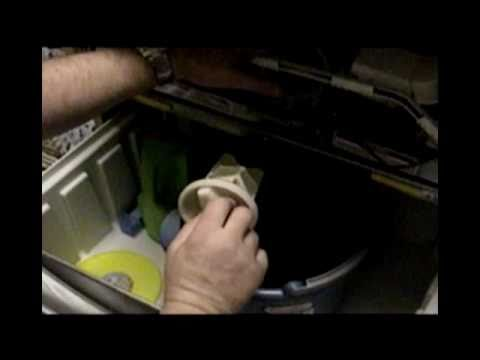 Whirlpool Duet Water Pump Drain Catch Youtube