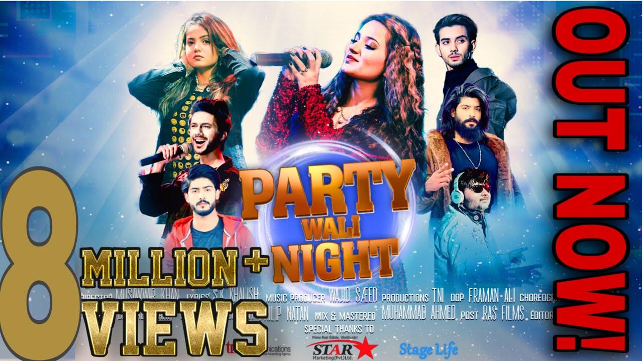 Download PARTY WALI NIGHT OFFICIAL SONG RABEECA KHAN  HUSSAIN TAREEN HAFSA  SHAHEER  BASIT  SHAIZ  KHURAIM 