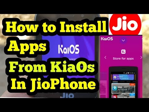 | How To Install Apps In Jio Phone KaiOs | Fb Whatsapp In JioPhone
