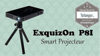 ExquizOn P8I Міні-Проектором DLP Android 7 - P8I Smart DLP Projector