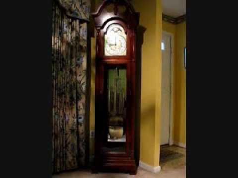 9:00 AM in Burke, Virginia, according to the Ridgeway Grandfather Clock