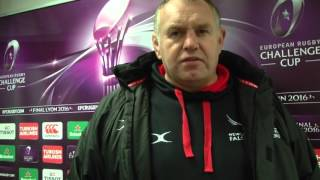 Dean Richards looks back at Newcastle's victory over Enisei | Rugby Video HIghlights