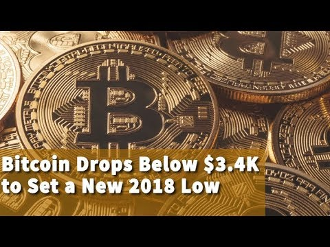 bitcoin-drops-below-$3.4k-to-set-a-new-2018-low- -btc-cryptocurrency-news