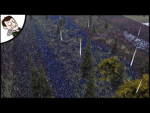 Massive 35000 Man & Elves v Orcs - LOTR Styles Battle - Ultimate Epic Battle Simulator