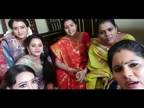 Naam iruvar Namakku iruvar serial Live Video Thamarai, Devi and Team @ Shooting Spot || Vijay Tv