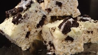 Black And White Rice Krispie Squares- With Yoyomax12