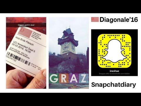 Meine Diagonale 2016 - Ein Snapchattagebuch
