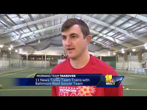 Video: Morning Team takes over the Baltimore Blast