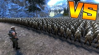 ゾンビ10000人VS 1人の戦闘ゲームがヤバすぎた!Ultimate Epi…
