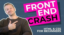 The 2019 Frontend Developer Crash Course - HTML & CSS Tutorial for Beginners