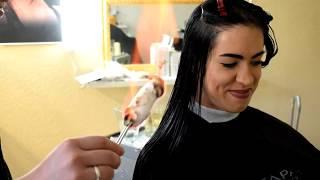 СТРИЖКА ОГНЕМ. Данная технология признана улучшить состояние волос.